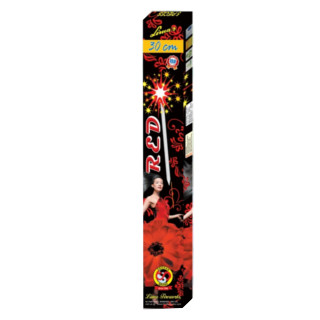 Sparklers - 30cm (Red)