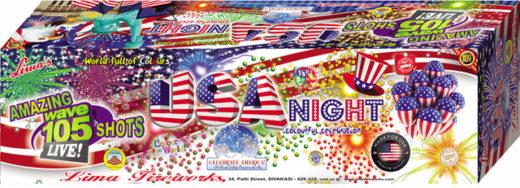 Aerial Show - USA Night