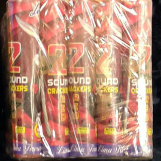 2 Sound Crackers - red