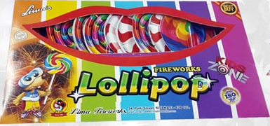 Fancy Novelties - Crackling Lollipop