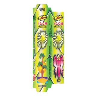 Sparklers - 10cm green