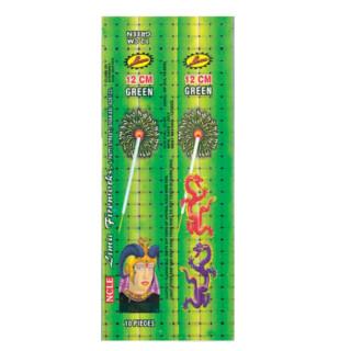 Sparklers - 12cm green