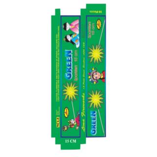 Sparklers - 15cm green