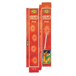 Sparklers - 15cm red