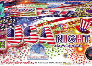 Aerial Show - USA Night
