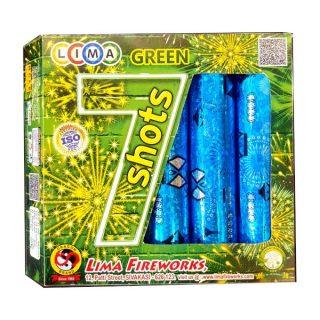 7 Color Shots (Green)