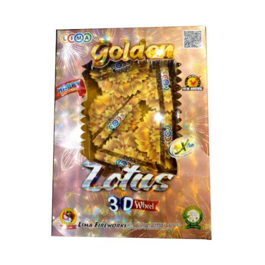 Golden Lotus Wheel